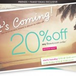 Beauty.com Friends And Family Sale Starts Today!