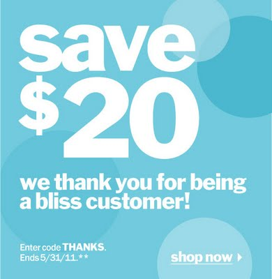 $20 Off At Blissworld.com