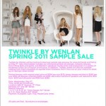 Twinkle By Wenlan Sample Sale