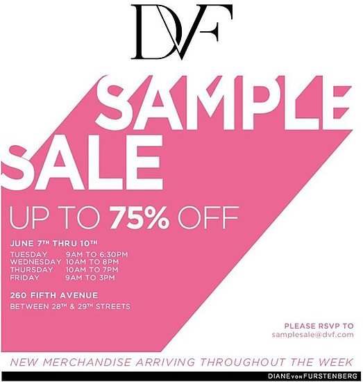 DVF Sample Sale