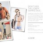 J.Crew Sample Sale