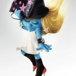 Smurfette In the August Issue Of Harper's Bazaar