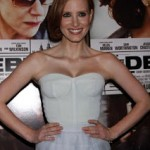 """Get The Look: Jessica Chastain's Makeup Look At The NYC Premiere Of """"The Debt"""""""