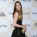 Beauty Breakdown: Anne Hathaway's Hairstyle & Makeup At The One Day Premiere