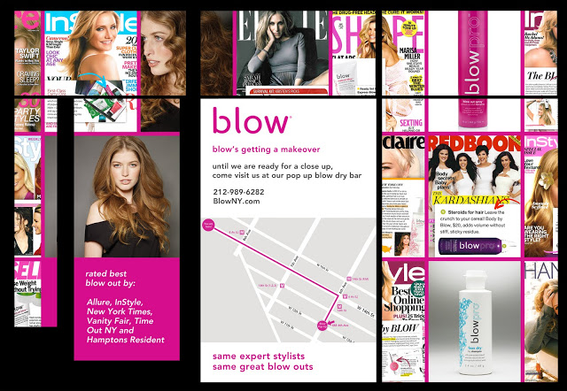 Blow Opens Pop Up Blow Dry Bar
