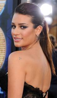 "Beauty Breakdown: Lea Michele's Hairstyle at the ""Glee: The 3-D Concert Movie"" Premiere"