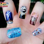 Back To The Future Nail Art