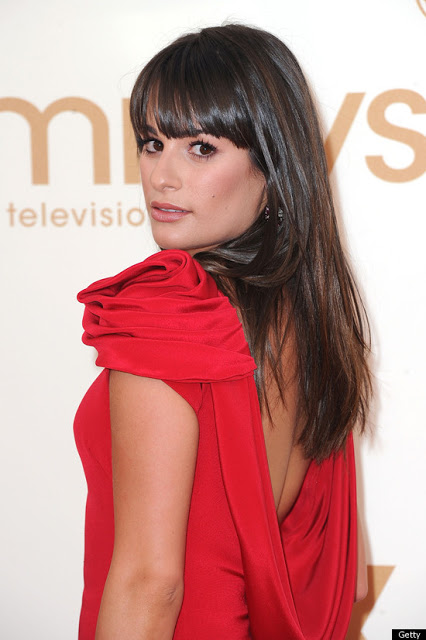 Lea Michele Glee 2011 Emmys photos