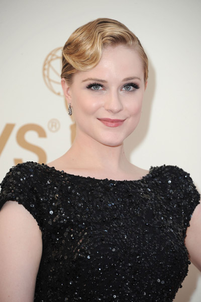 2011 Emmys Makeup & Hairstyle: Evan Rachel Wood
