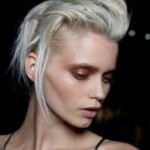 """Rebel With A Trust Fund"" Hair At Haider Ackermann"