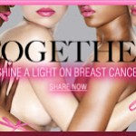 Estee Lauder's Shine A Light On Breast Cancer Campaign