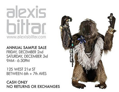 Alexis Bittar Sample Sale