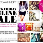 Rebecca Minkoff Black Friday Sale