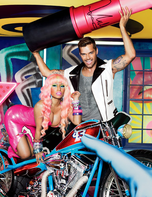 First Look: MAC Viva Glam 2012 With Ricky Martin & Nicki Minaj