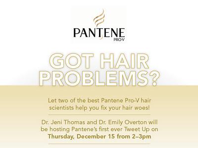 Pantene Hair Tweetup Tomorrow!