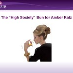 "Hair How-To: The ""High Society"" Bun"