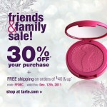 Tarte Friends & Family Discount
