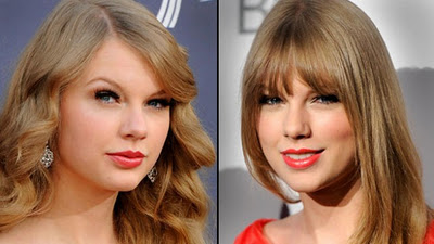 Taylor Swift's New Bangs