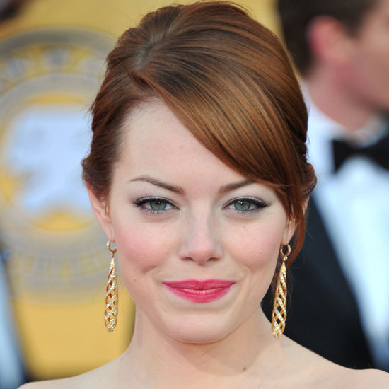 SAG Awards 2012 Hairstyle: Emma Stone