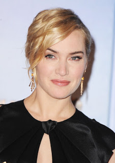 Golden Globes 2012 Hairstyle & Makeup: Kate Winslet's Makeup & Hairstyle