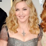 Golden Globes 2012 Hairstyle: Madonna