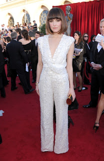 SAG Awards 2012 Hairstyle: Rose Byrne