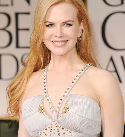 Golden Globes 2012 Hairstyle: Nicole Kidman