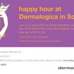 Happy Hour At Dermalogica In SoHo, NYC