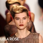 Get The Look: Lela Rose Fall 2012 Collection Hairstyle