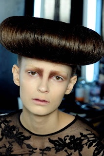 Breakfast Pastry Hair At McQ At London Fashion Week