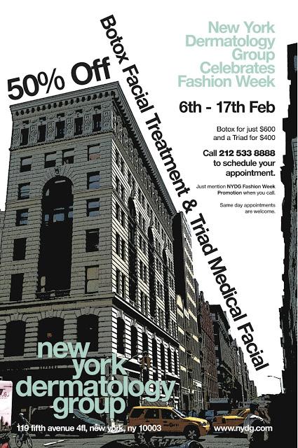 Through Tomorrow: 50% Off At NY Dermatology Group