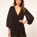 BOUGHT: Asos Wrap Dress With Sequin Cuff