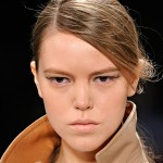 Fashion Week Fall 2012 Beauty Trends: Polished Ponys, Single-hue Shadow & Nude Cheeks
