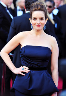2012 Oscars Beauty: Tina Fey's Makeup