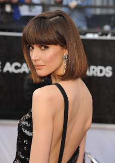2012 Oscars Beauty: Rose Byrne's Hairstyle
