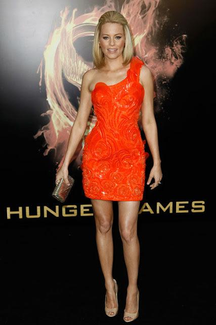 Get The Look: Elizabeth Banks' Makeup At 'The Hunger Games' Premiere In LA