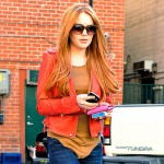 Lindsay Lohan's Back To Red Hair