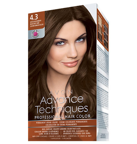 Avon Techniques Professional Hair Color | Rouge 18