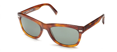 Warby Parker Thatcher In Cedar Tortoise Sunglasses