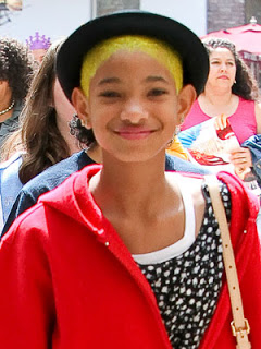 Willow Smith Dyes Her Hair Neon Yellow