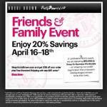 Bobbi Brown Friends & Family