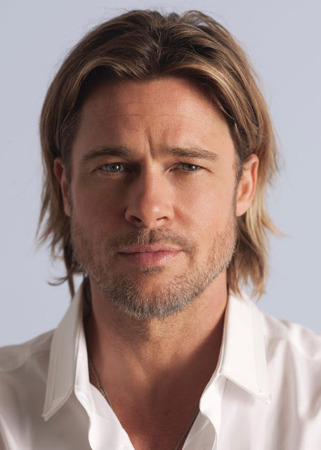 Brad Pitt's The New Face Of Chanel No. 5