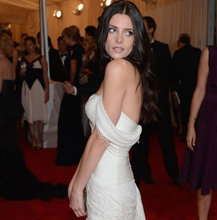 Get The Look: Ashley Greene's Hairstyle At The Met Gala 2012