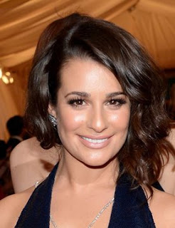 Get The Look: Lea Michele's Makeup At The Met Gala 2012
