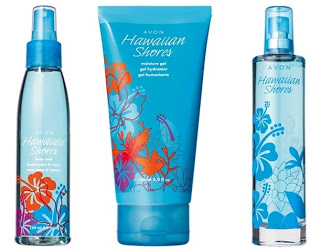 Avon Hawaiian Shores Collection