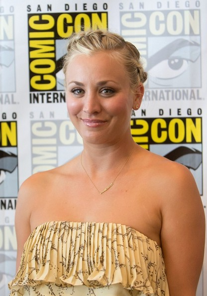 Kaley Cuoco's Makeup At Comic-Con 2012: How-to