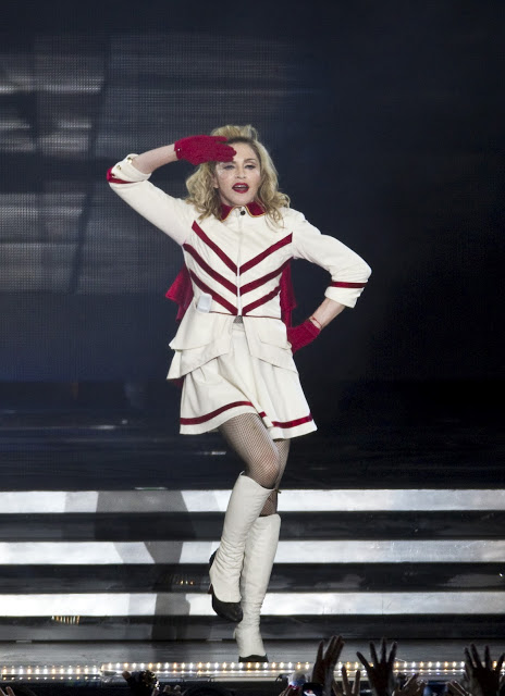 The Official Red Lip Of Madonna's MDNA Tour Is…