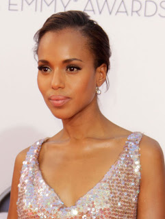 Kerry Washington's Hairstyle: Emmys 2012