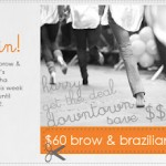 $60 Brow/Brazilian This Week At Shobha Financial District