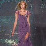 Dryad Delightful: Badgley Mischka Spring 2013 Hair, Makeup, Nails